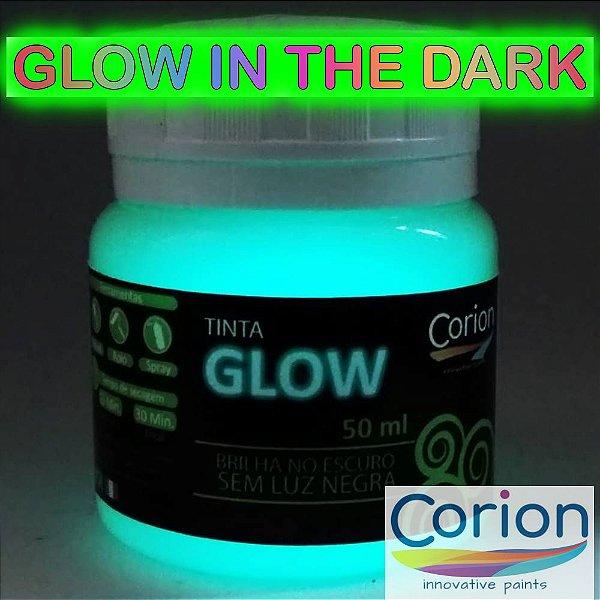Kit: 1x Tinta Glow Corion 50ml + 1x Primer Fundo Branco. Desconto