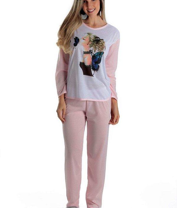 Pijama Longo Ela