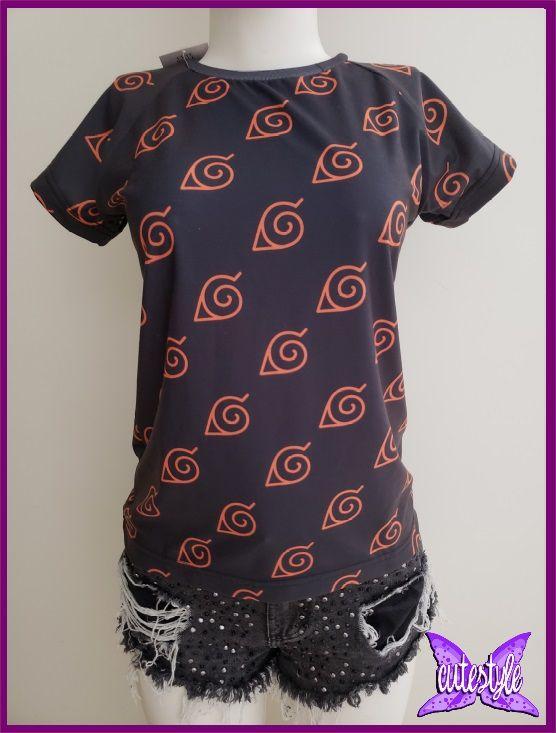 Blusa Naruto (vila da folha)