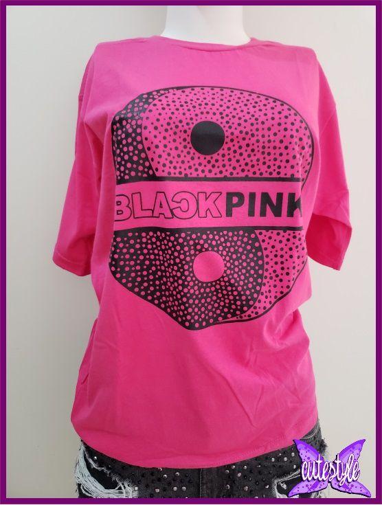 Camiseta Blacpink rosa pink