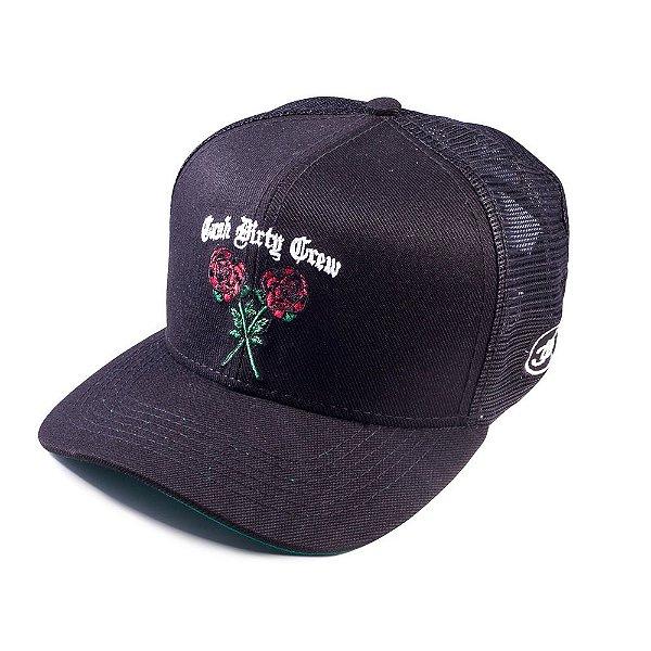 dfe20a81e2c88 Boné Rosas - Cash Dirty Crew