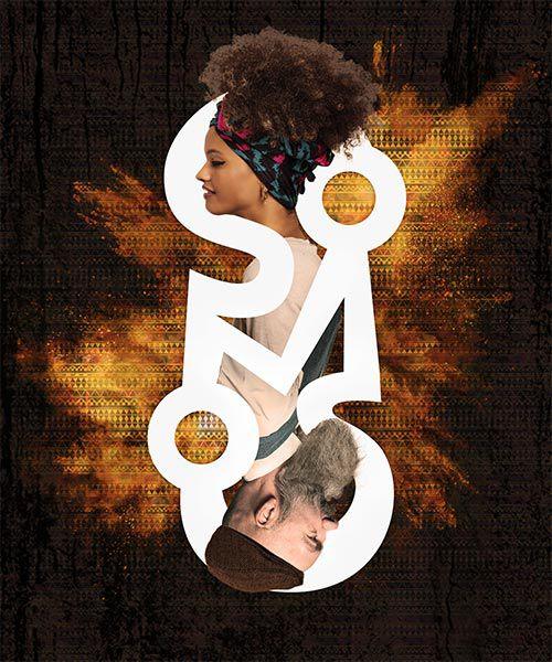 Pôster Logo Somos Igualdade Racial