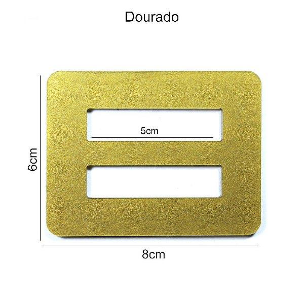 Fivela de Acrílico várias cores  C/ 5 Unid cada cor - PND09 50mm