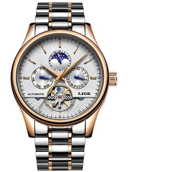Relógio Lige Automático Original Lg9843