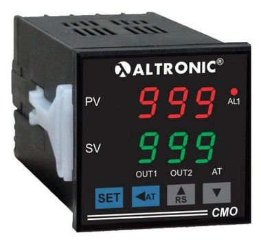 CMO - 34 MP CONTROLADOR E INDICADOR DE TEMPERATURA DIGITAL 100 A 240VCA ALTRONIC