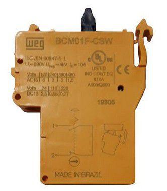BCM01F-CSW BLOCO DE CONTATO 1NF 13262011 WEG