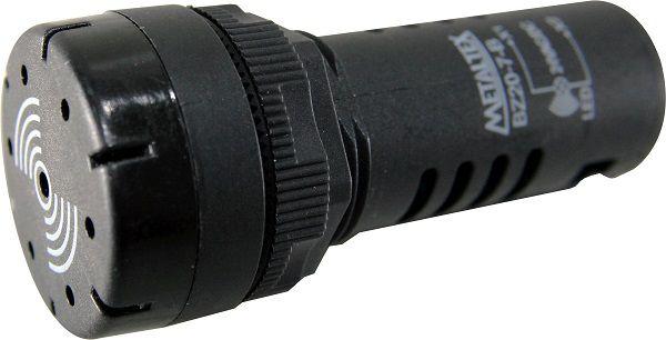 BZ20-7-B SINALEIRO 22MM SONORO 24VCA/VCC I11234 METALTEX