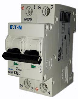 MMCMDC-C10/2 MINI DISJUNTOR 2P 10A 10KA CURVA C 250VDC 129638 EATON
