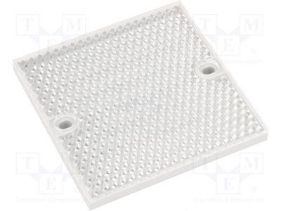 PL80A ESPELHO PRISMÁTICO REFLETOR 80X80MM 1003865 SICK