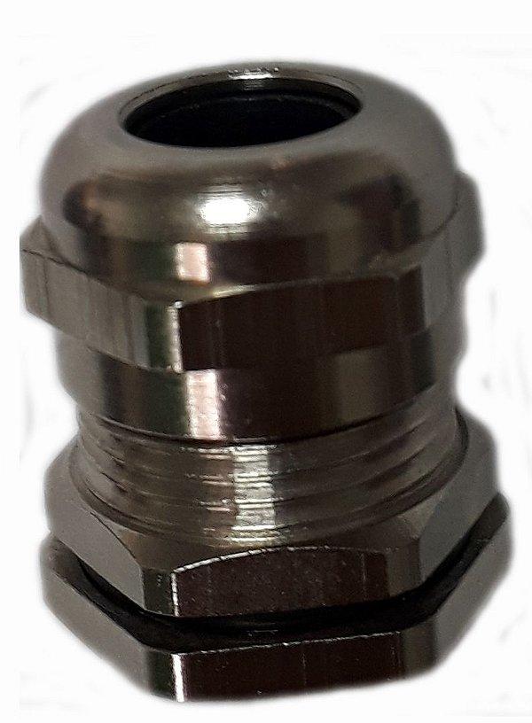 HSK-M M20X1,5 6 A 12MM PRENSA CABO LATÃO NIQUELADO C609200050 HUMMEL