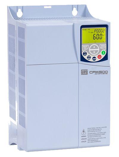 CFW500C24P0T2DB20 INVERSOR DE FREQUÊNCIA TRIFÁSICO 7,5CV 24A 220V WEG 12105914