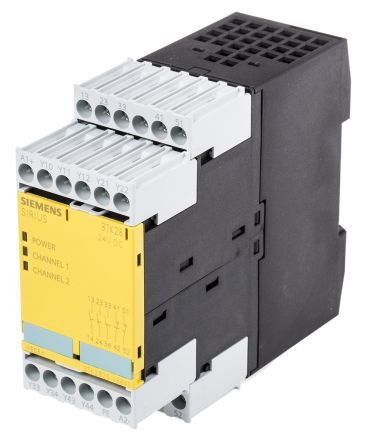 3TK2834-2BB40 (E3) 24VDC RELE DE SEGURANÇA SIRIUS SIEMENS