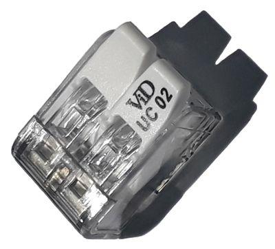K001-425 420 UC02 CONECTOR DE ENGATE RÁPIDO 2 FIOS 4,0mm 7419 WECO
