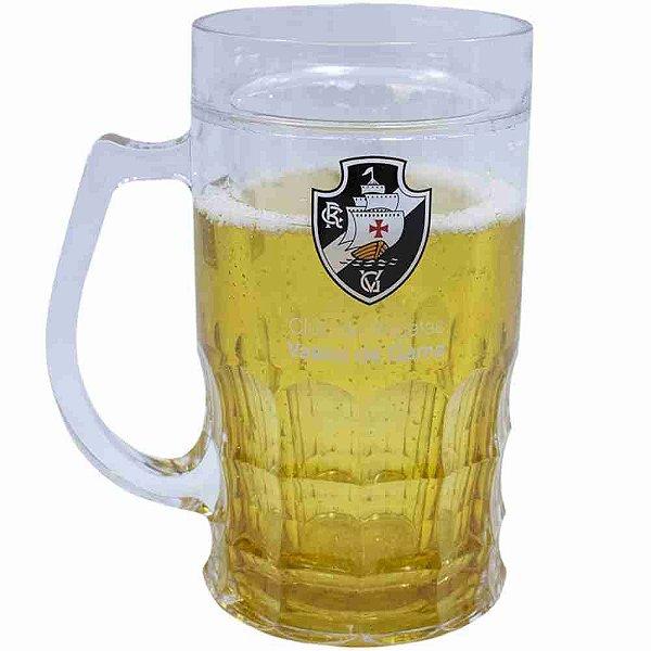 Caneca Cerveja 400ml - Vasco