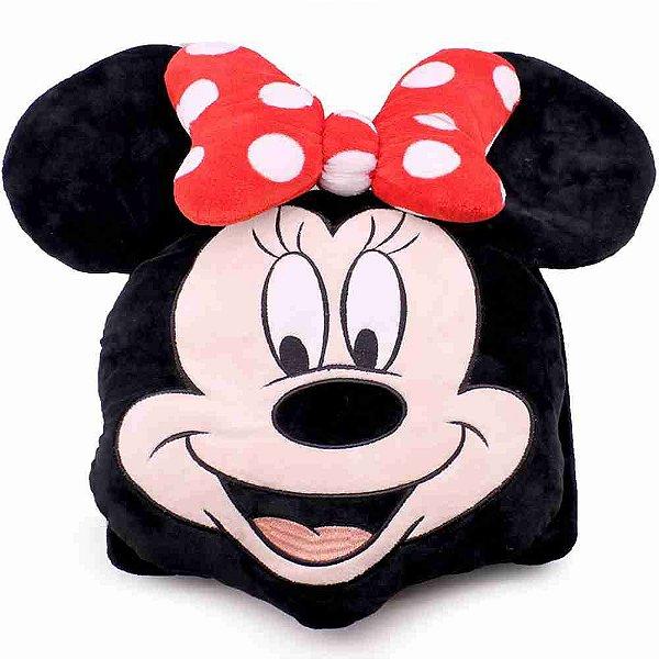 Almofada Multi-Função Formato Minnie (Fibra) - Disney