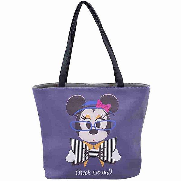 Bolsa Roxa Minnie Chique - Disney