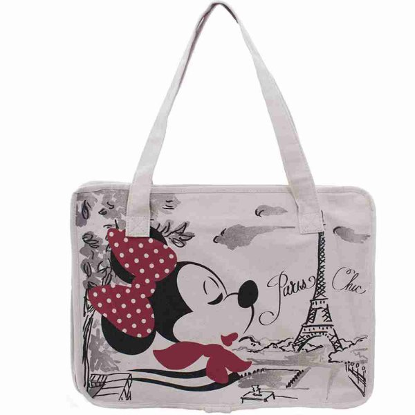 Bolsa Chic Minnie Em Paris - Disney