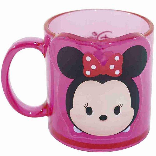 Caneca Rosa Minnie Tsum Tsum 250ml - Disney