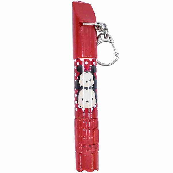 Caneta Lanterna Vermelho Mickey & Minnie Tsum Tsum - Disney