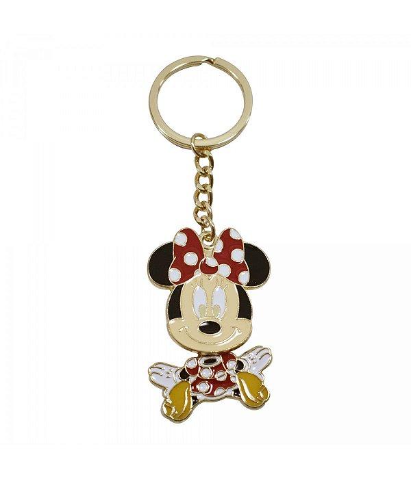 Chaveiro Minnie Rosto E Corpo Giram - Disney