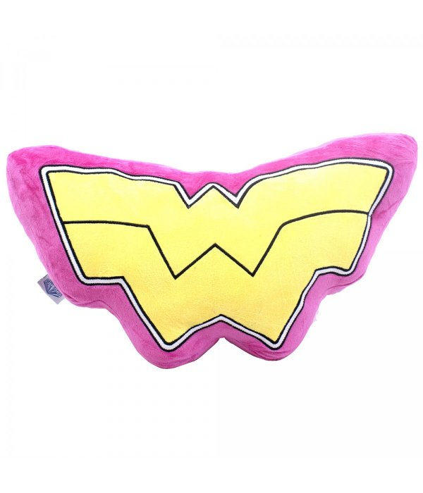 Almofada Formato Símbolo Mulher Maravilha (Fibra) - Liga Da Justiça