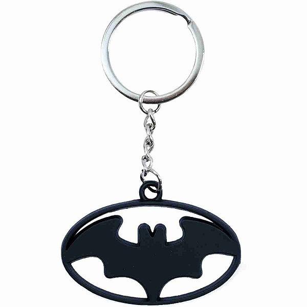 Chaveiro Metal Revestido Silicone Batman - Liga Da Justiça