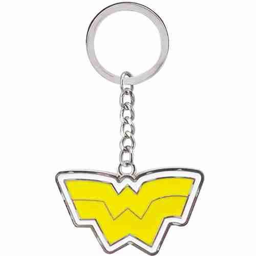 Chaveiro De Metal Símbolo Mulher Maravilha - Liga Da Justiça