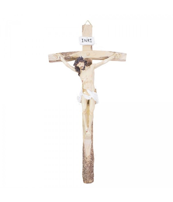 Crucifixo 40cm - Enfeite Resina