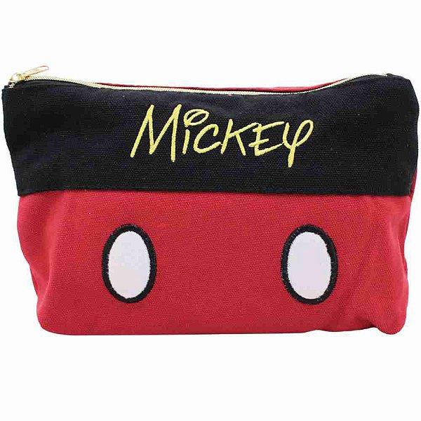 Necessaire Mickey 14X21cm - Disney