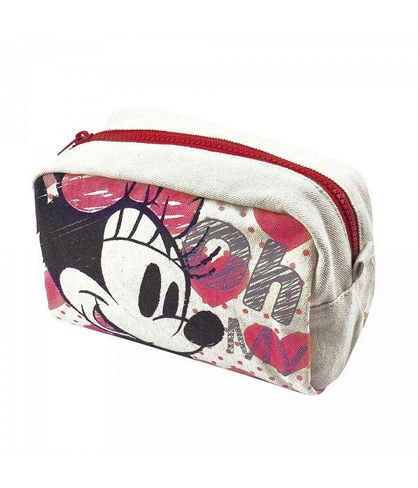 Necessaire Grafite Minnie - Disney