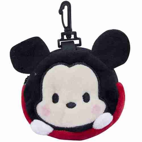 Porta Moeda Pelúcia Mickey Tsum Tsum - Disney