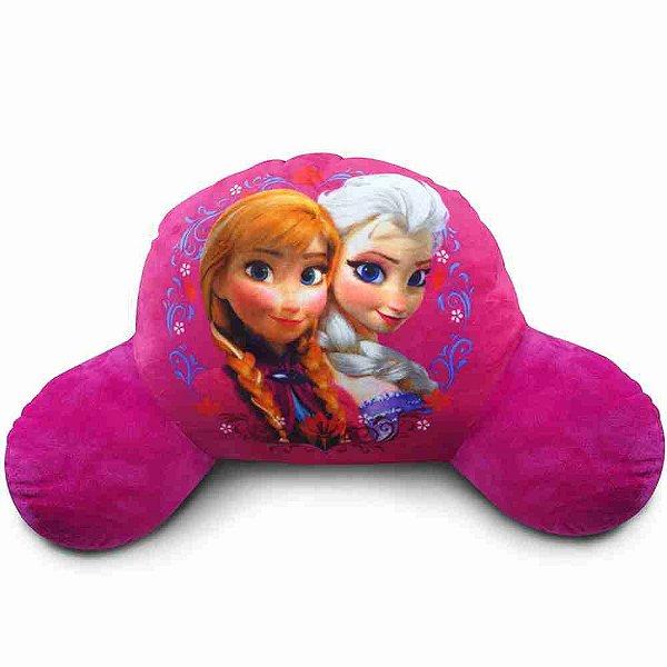 Almofada De Encosto Anna E Elsa (Fibra) (Média) Frozen - Disney