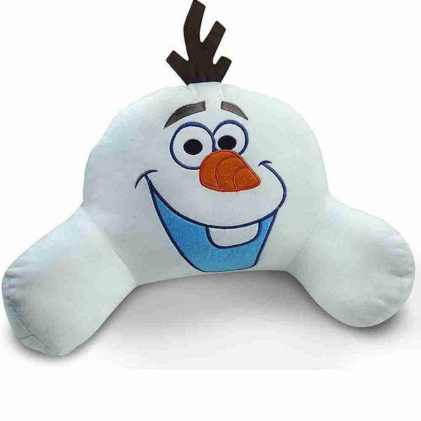 Almofada Encosto Olaf (Fibra) (Grande) Frozen - Disney