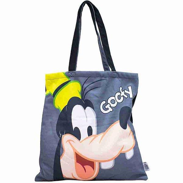 Bolsa Cinza Pateta 36x36cm - Disney