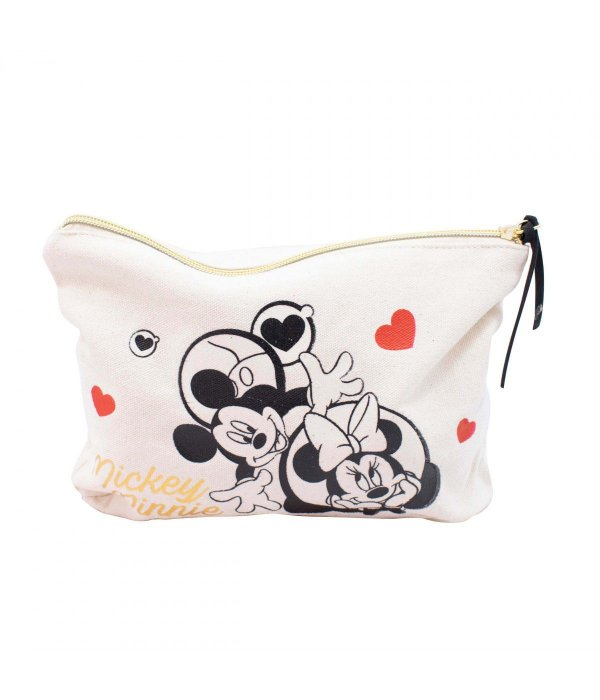 Necessaire Mickey Minnie Apaixonados 25x18x6cm - Disney
