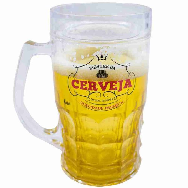 Caneca Mestre Da Cerveja 400ml - Projeto Kiwi