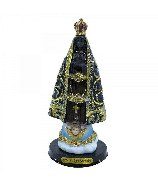 Nossa Senhora Aparecida 8cm - Enfeite Resina