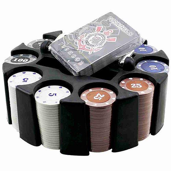 Jogo De Poker 200 Fichas E Baralhos - Corinthians