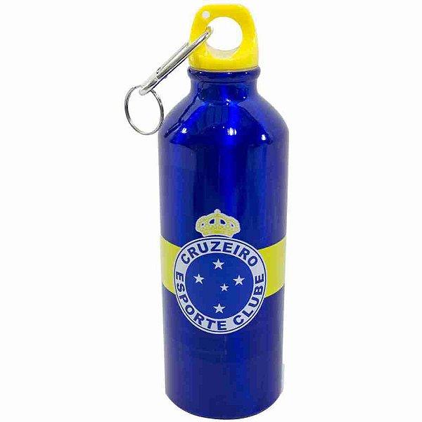 Garrafa De Alumínio Com Prendedor 500ml - Cruzeiro