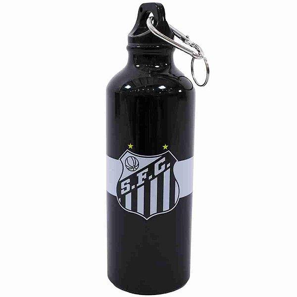 Garrafa De Alumínio Com Prendedor 500ml - Santos
