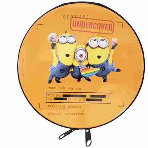 Porta Cd Undercover - Minions | Meu Malvado Favorito