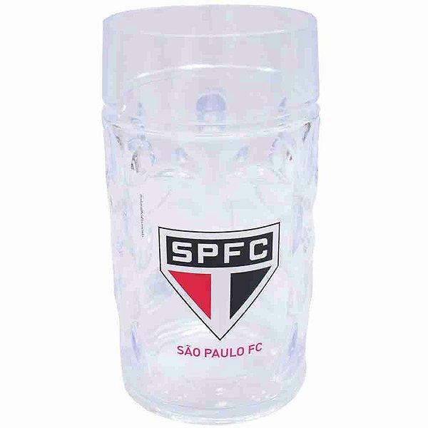 Caneca Plástico Gigante 900ml - SPFC