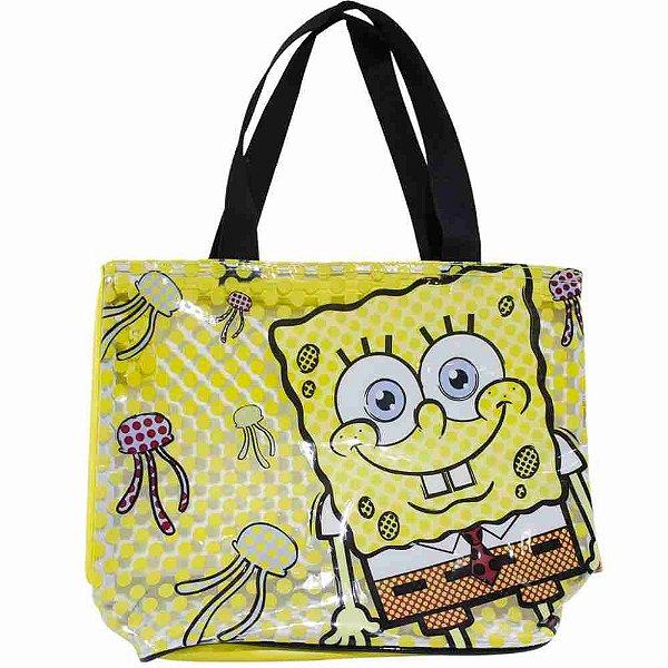 Bolsa Amarela Bob Esponja Shopping Bag - Bob Esponja
