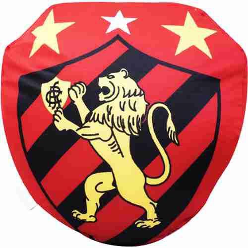 Almofada Em Forma De Brasão (Isopor) - Sport Club