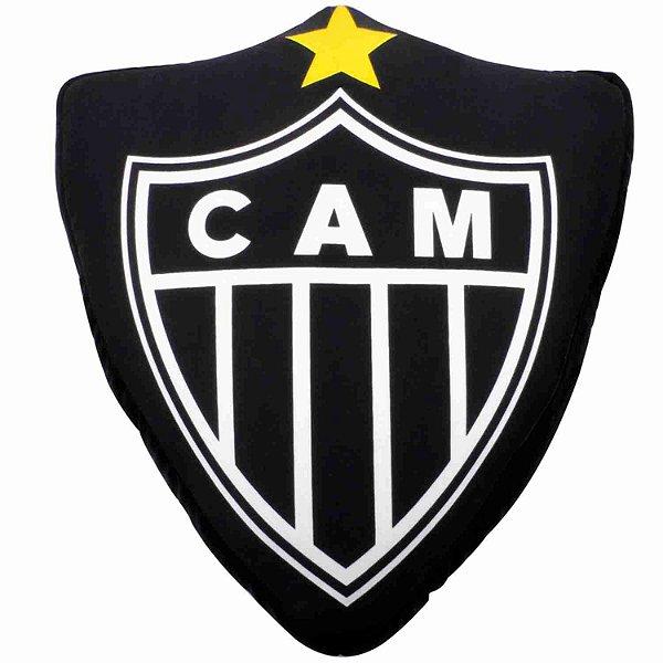 Almofada Em Forma De Brasão (Isopor) - Atlético Mineiro
