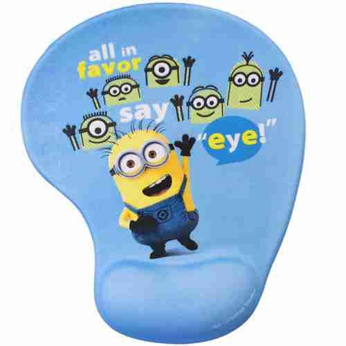 Mouse Pad Say Eye Com Apoio Em Gel - Minions