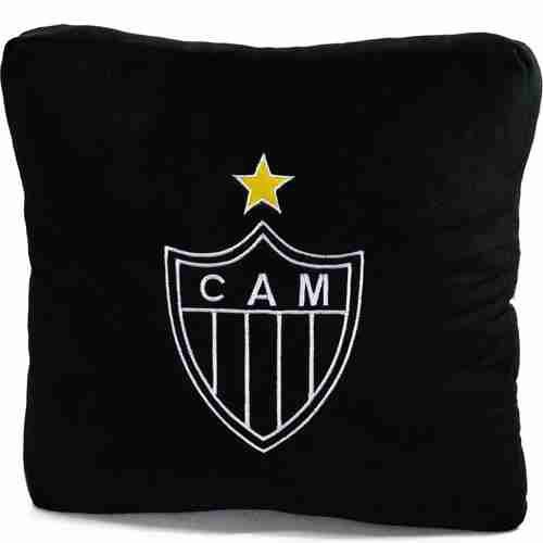 Almofada Quadrada (Fibra) - Atlético Mineiro