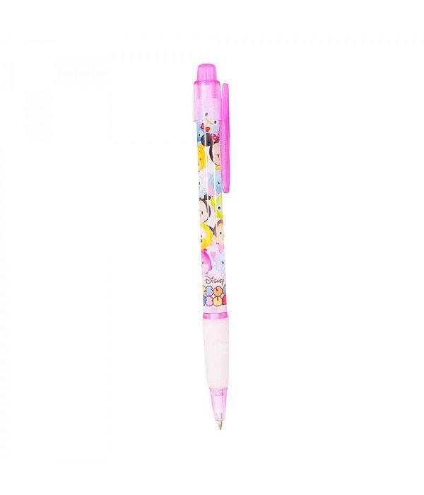 Caneta Roller Pen Rosa Mickey Minnie Tsum Tsum - Disney