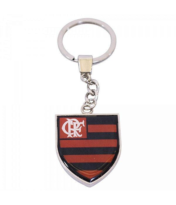 Chaveiro Metal Brasão - Flamengo