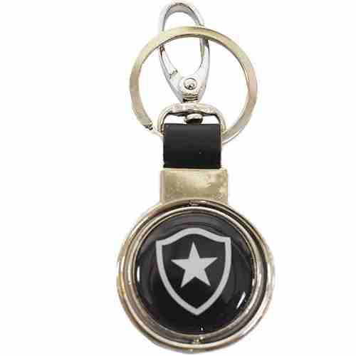 Chaveiro Com Enfeite De Metal - Botafogo